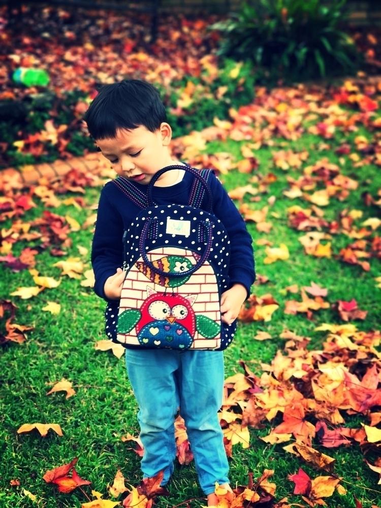 toddlerbackpack, handmade, owlbag - krendi | ello