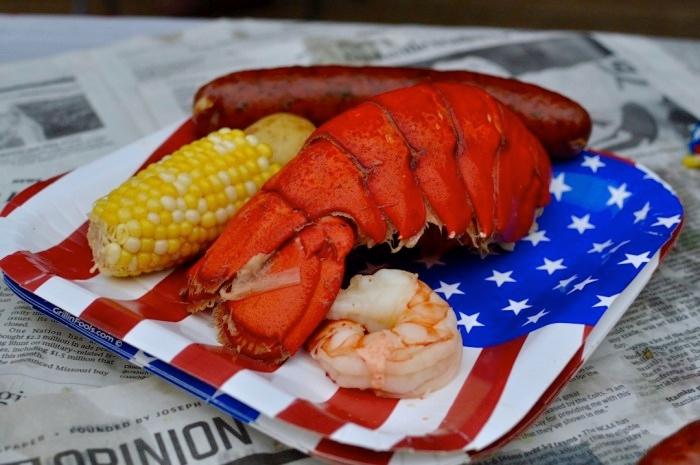 Menu Today?: July 4th Lobster,  - unijentifiedmater | ello