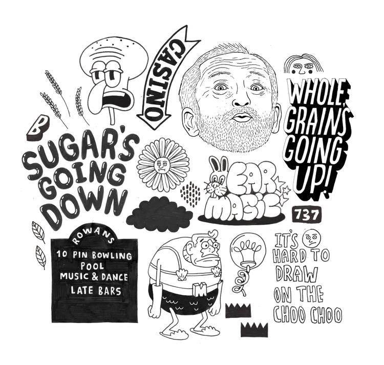 Doodle Diarrhoea - biffcreative | ello