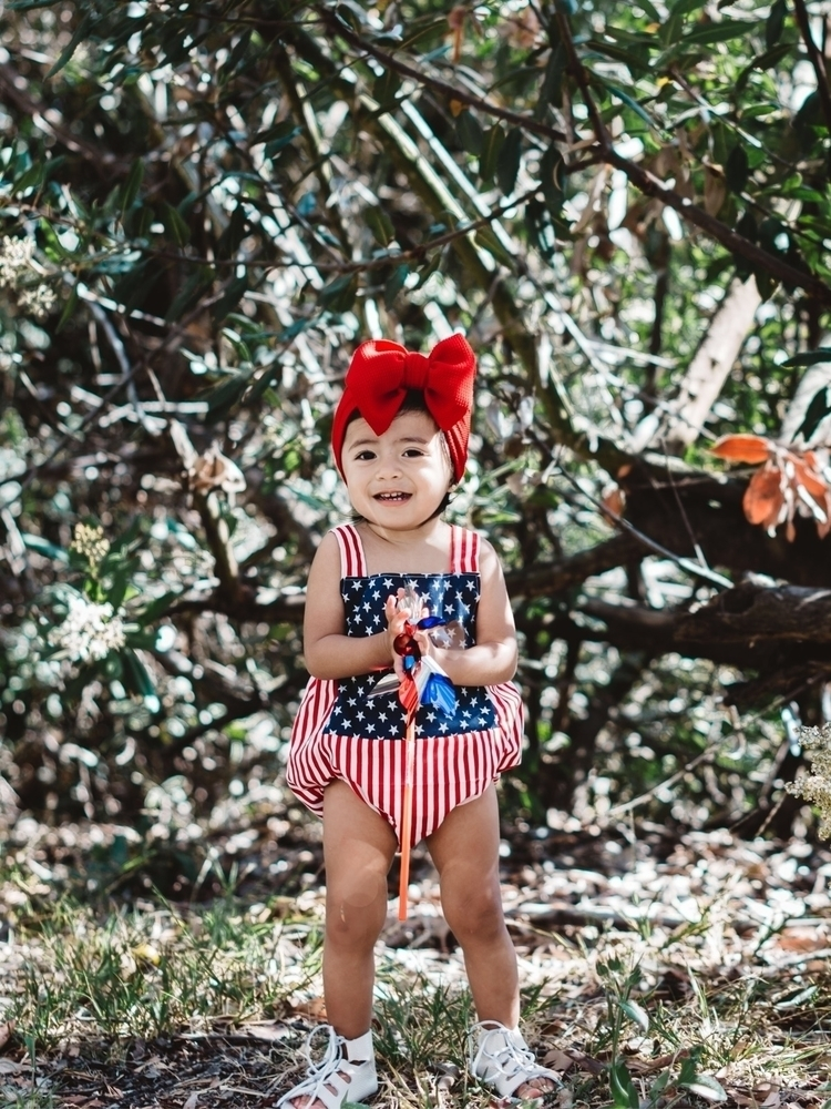 Happy 4th July - baby, babygirl - littleposhbabes | ello