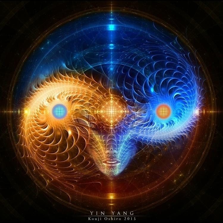 Yin Yang - yinyang, energy, conscience - koujioshiro | ello