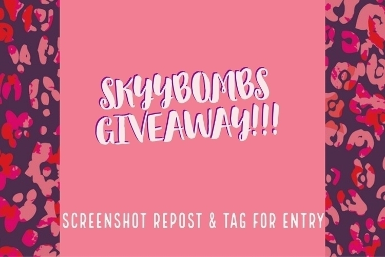 giveaway, bathbombs, bathbomb - skyybombs | ello