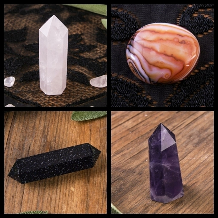 added 4 listings - tower, bande - cedarwitchcrystals | ello