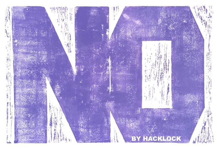 printmaking, linoprint, handprinted - hacklock | ello