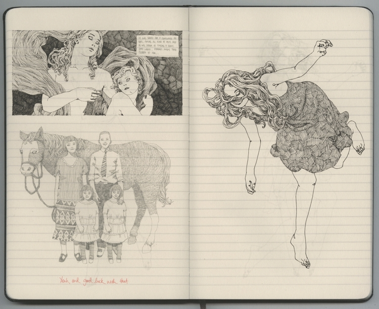 sketchbook - lucong | ello