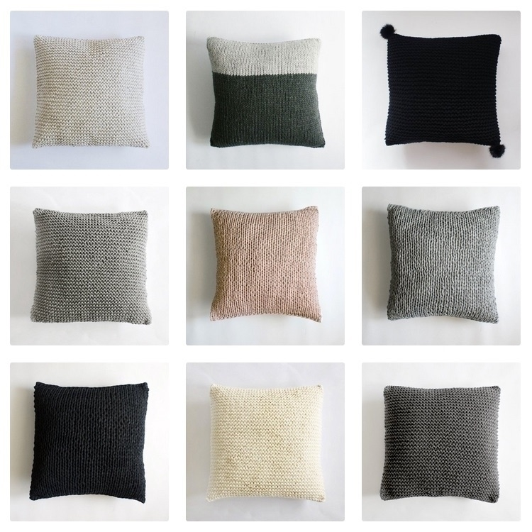 knitted cushion covers, bunch $ - andinkco | ello
