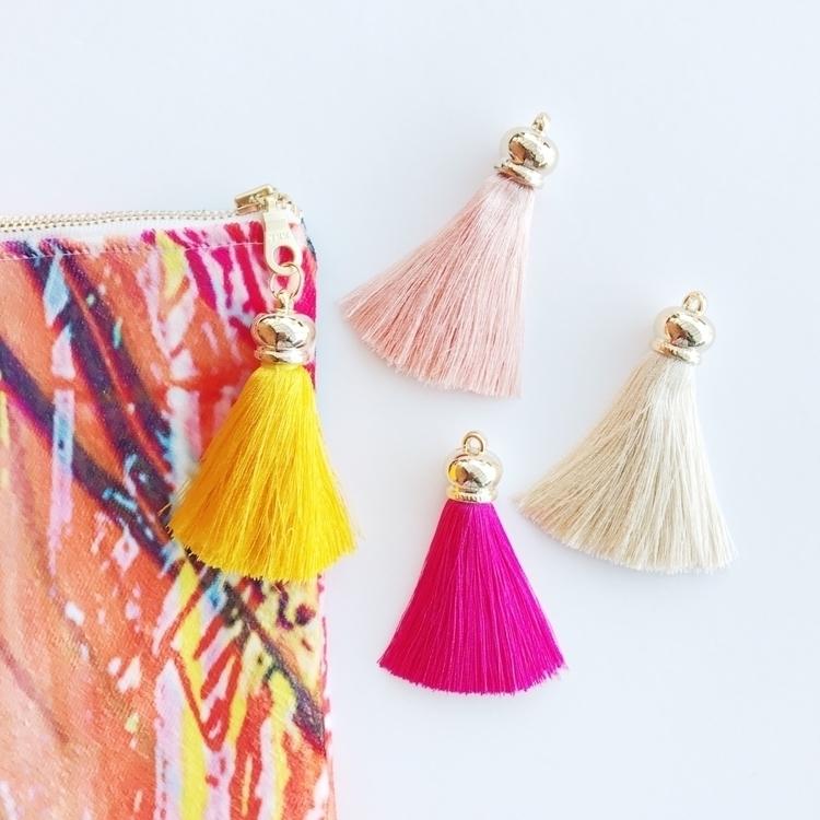 TASSELS | Gorgeous tassels clut - littlemisslorraine | ello
