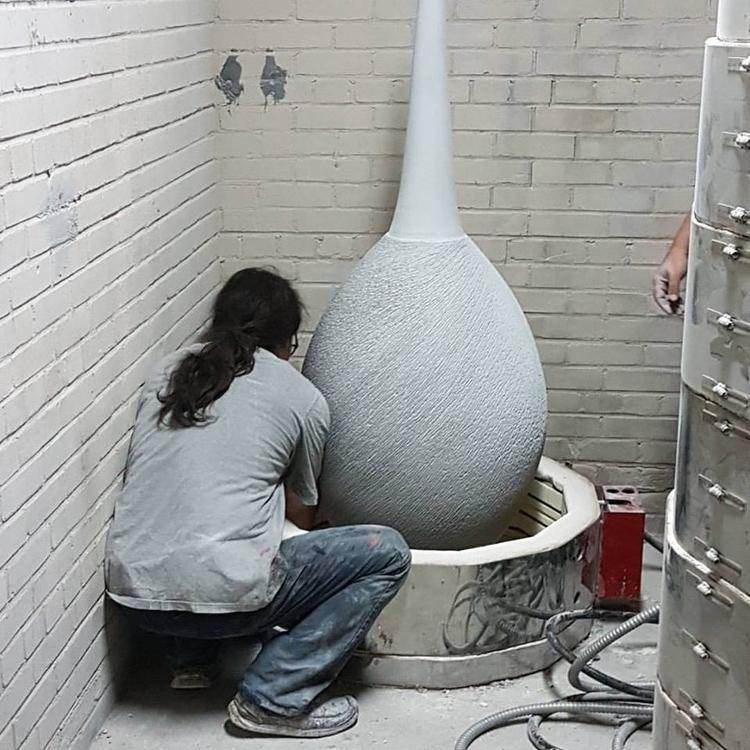 Ovoïdale vase ceramic Tommy Zen - tommyzen | ello