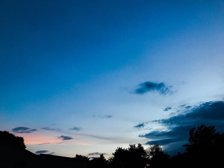 sunset, clouds, cool, love - illaurail | ello