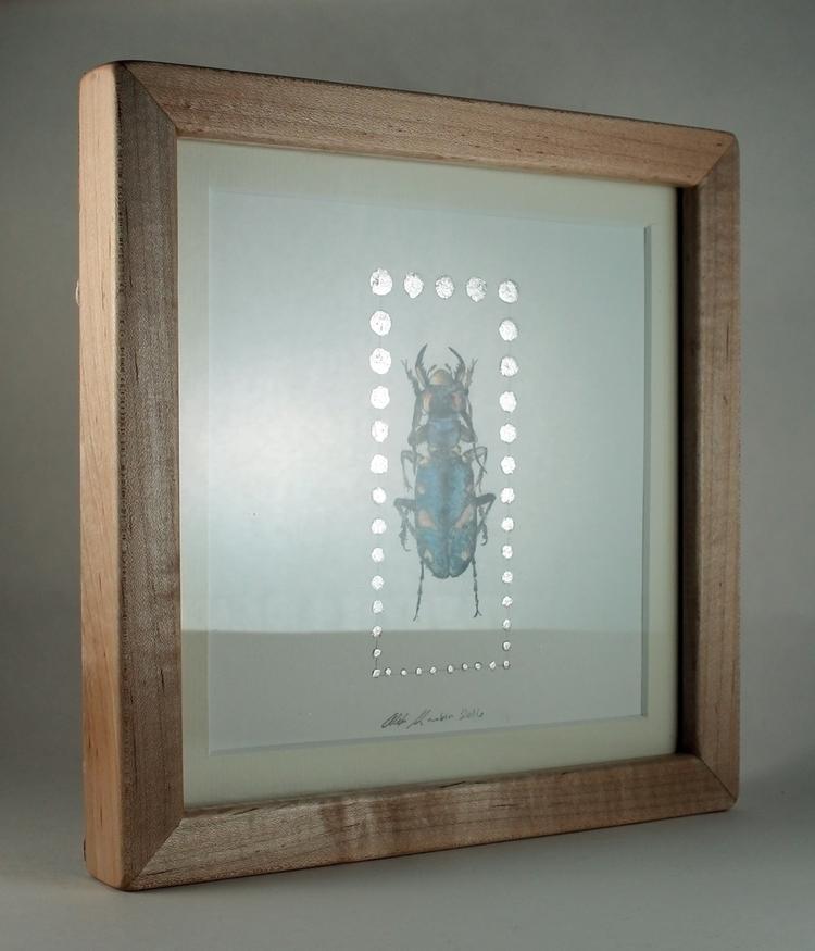 oldie sold - beetle, silver, metallic - alexakarabin | ello