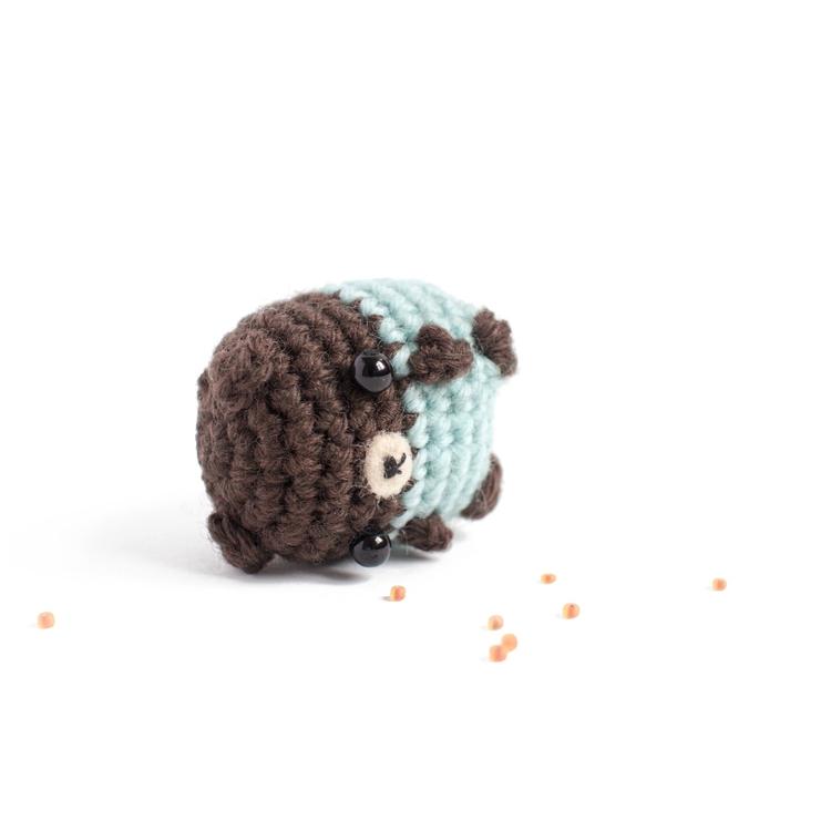 Amigurumi day 5 small bear pyja - mohu | ello