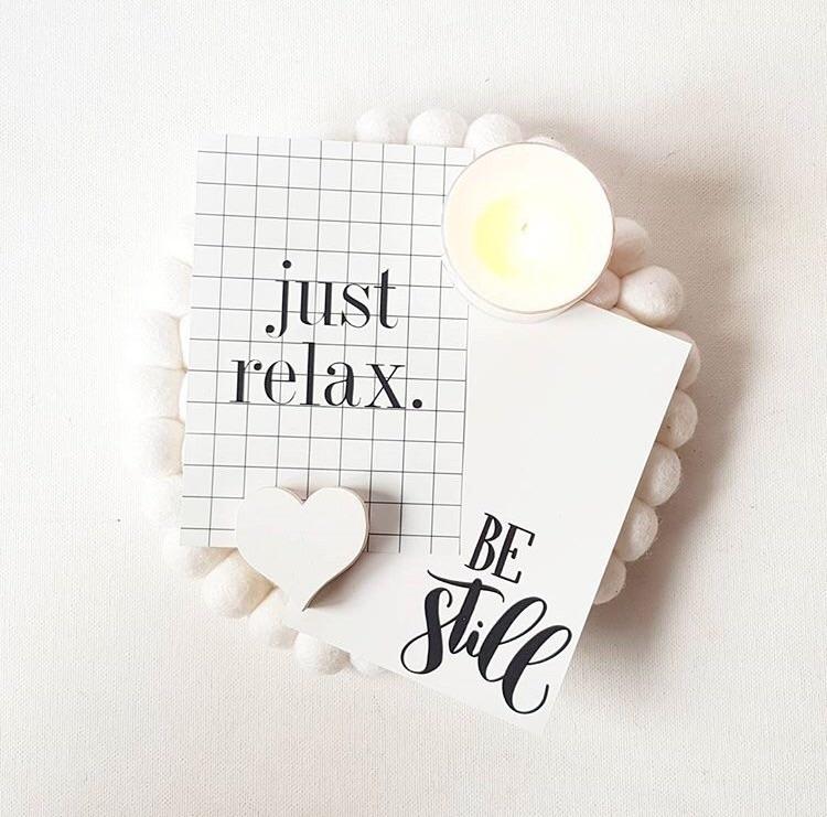 Relax... Thursday - soycandles, lavender - sticksandstonescandleco | ello