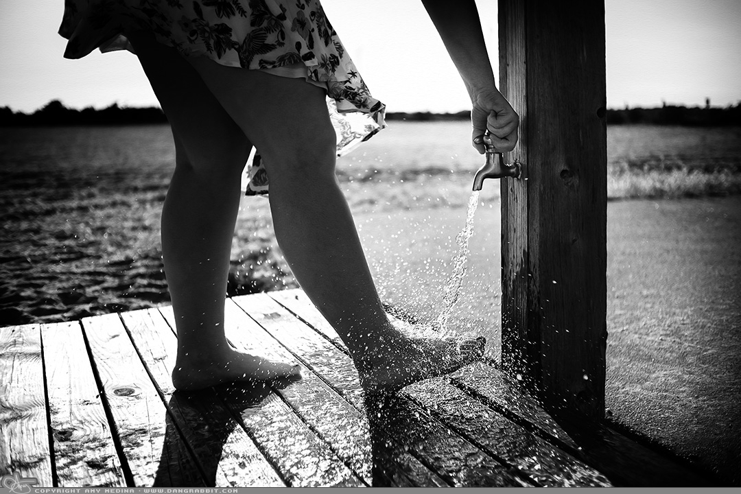 Rinsing Feet refreshing put fee - dangrabbit-photography | ello