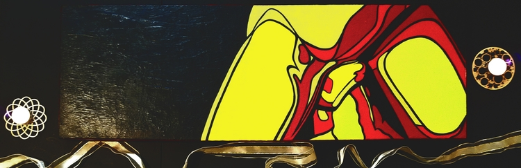 Midnight Snack - acrylic canvas - crd_larson | ello