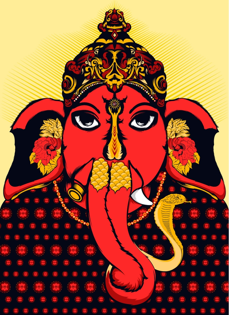 Ganesha - DigitalDecadeCyberia, kzengjiang - kzengjiang   ello