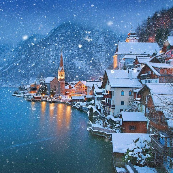 Hallstatt, Austria. winter - jimcofer | ello
