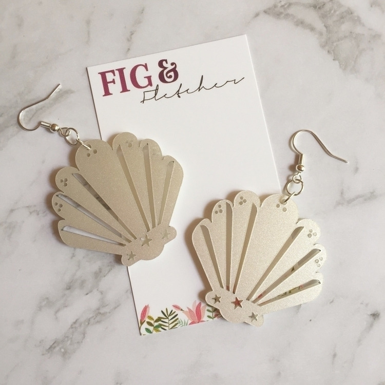 Beautiful, shimmery white pearl - figandfletcher | ello