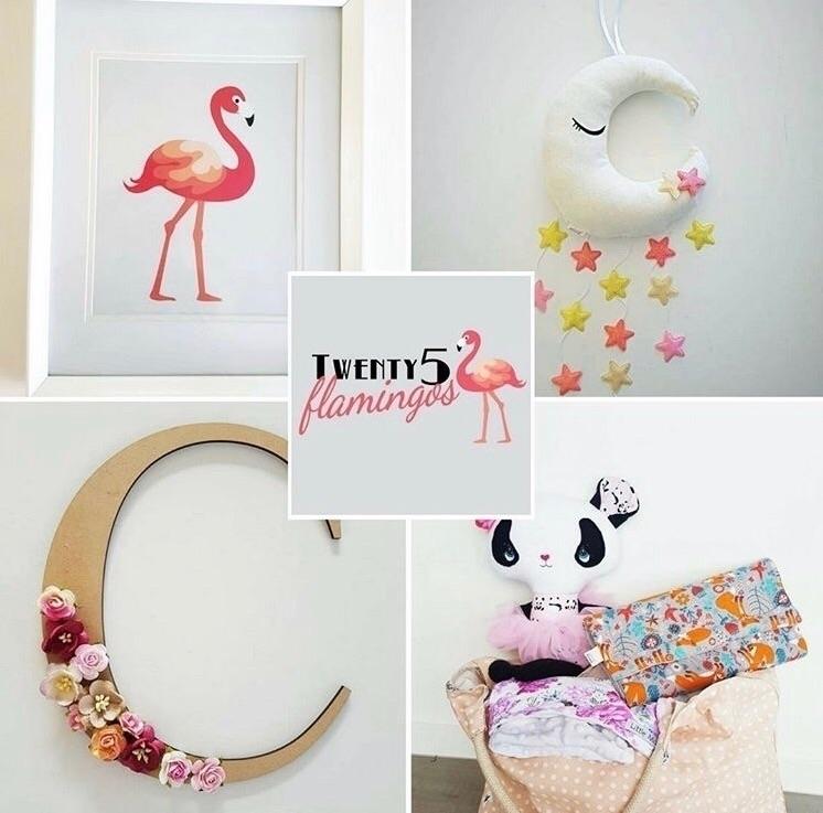 Welcoming Twenty5 Flamingos Nur - nurserycollective | ello