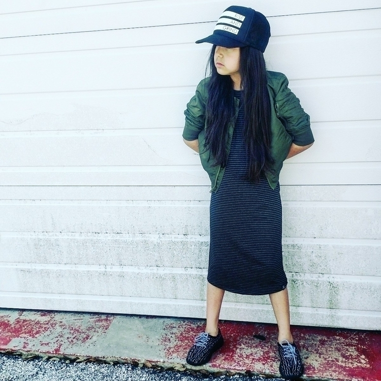 dress snapback - streetstyle, streetchic - a_brielle | ello