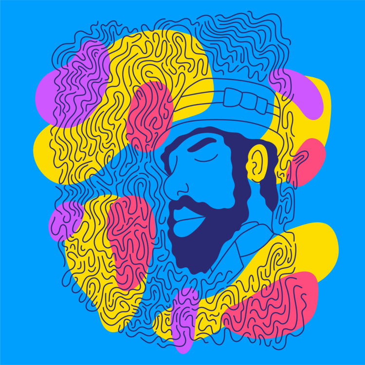 Thelonious - illustration, illustrator - heybop | ello