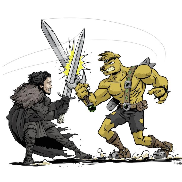 Jon Snow Stanley Mole - robking21 | ello