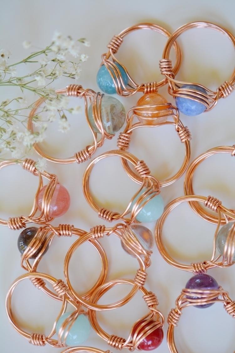 rings crystaljewelry - energyhealing - sacredcrystalco | ello