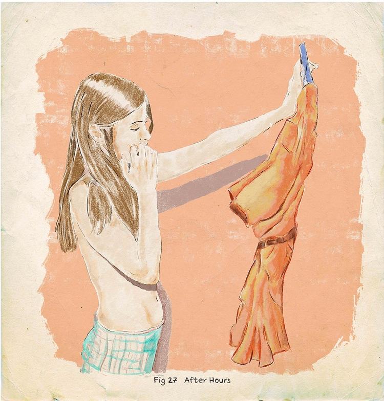 hours - illustration, artwork, sketch - zoe_vadim | ello