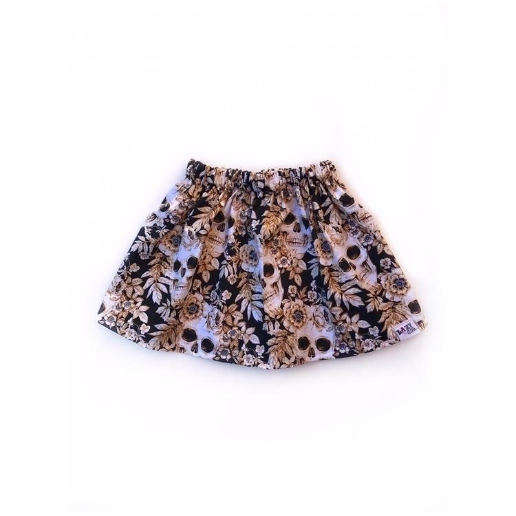 size 3 Sepia Skull Skirt online - lazylittle_ | ello