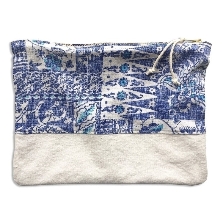Aloha large zippered pouch Isla - patrickdenanddelve | ello