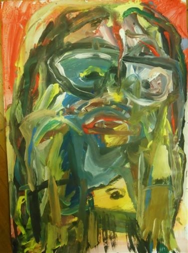 Ria - painting, art, expressionism - giannisrallis | ello