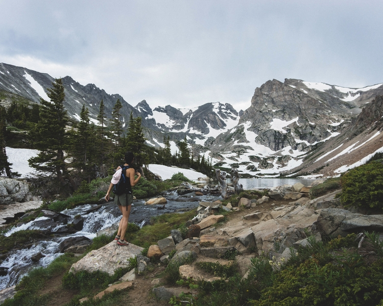 Lake Isabelle - rockymountains, adventure - andrewwee   ello