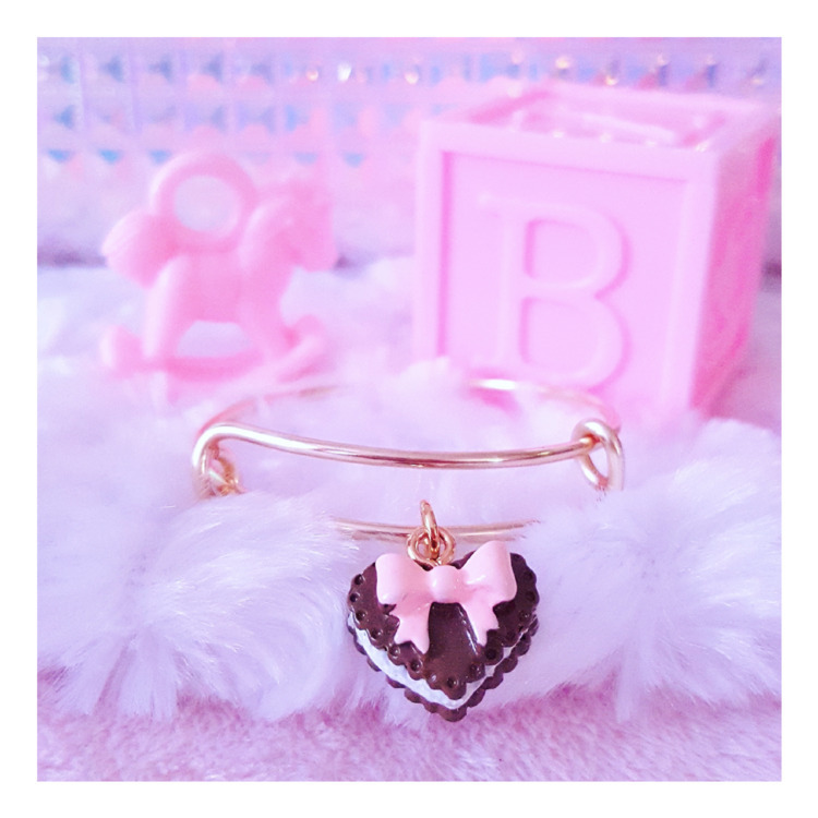 Ice cream Cake Charm Bangle Bra - pinkbutterflybella | ello