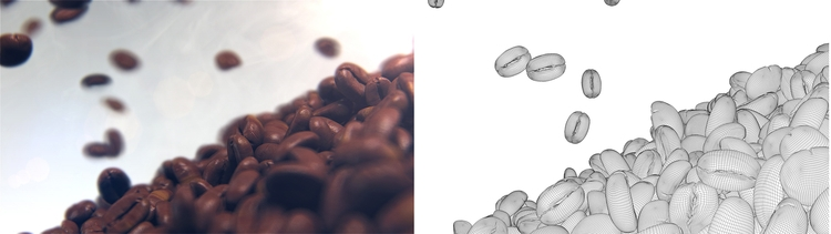 beans blur - render, renderforest - tmotion | ello