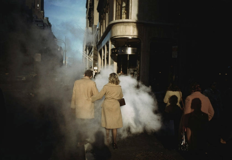 Couple camel coats street steam - bintphotobooks | ello