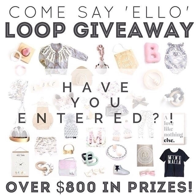 entered? $800 prizes grabs! Ref - justray_baby | ello