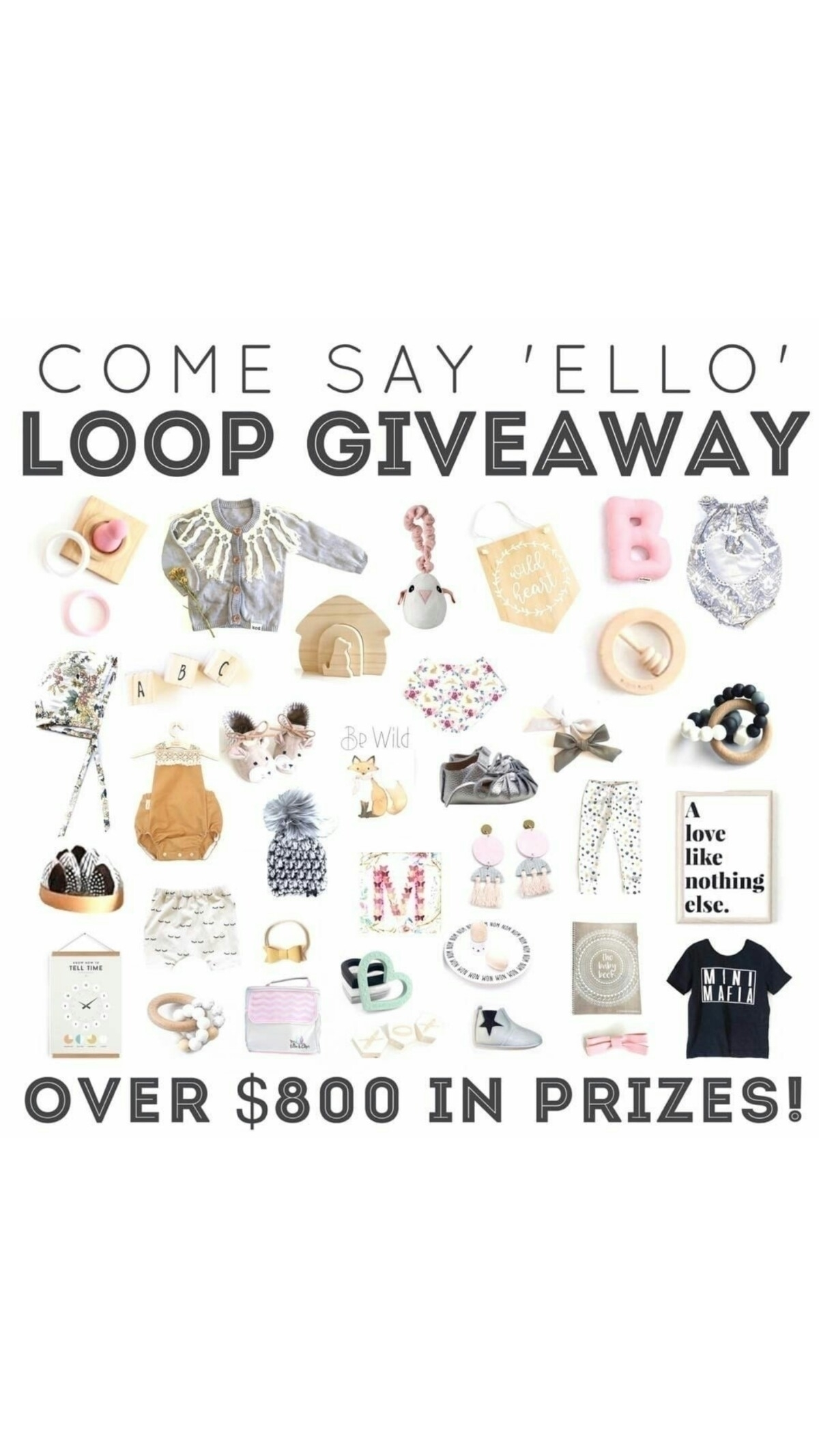 COMP CLOSED WINNER ANNOUNCED te - collectivekidsthreads | ello