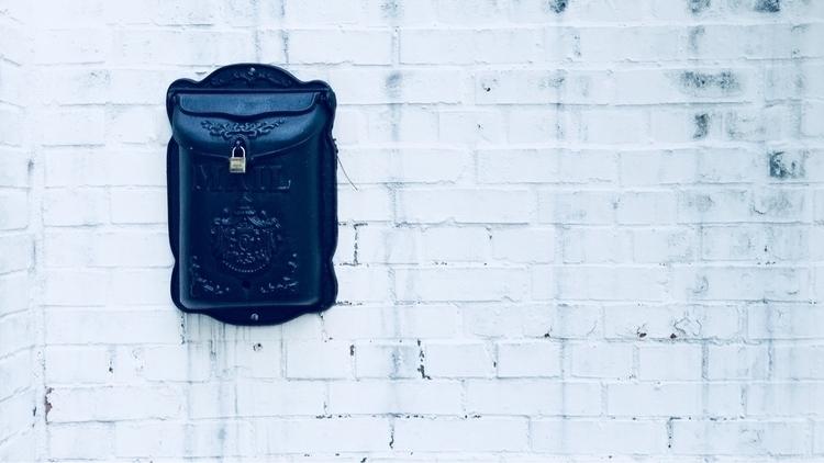 brickwall, mailbox - mathmac | ello