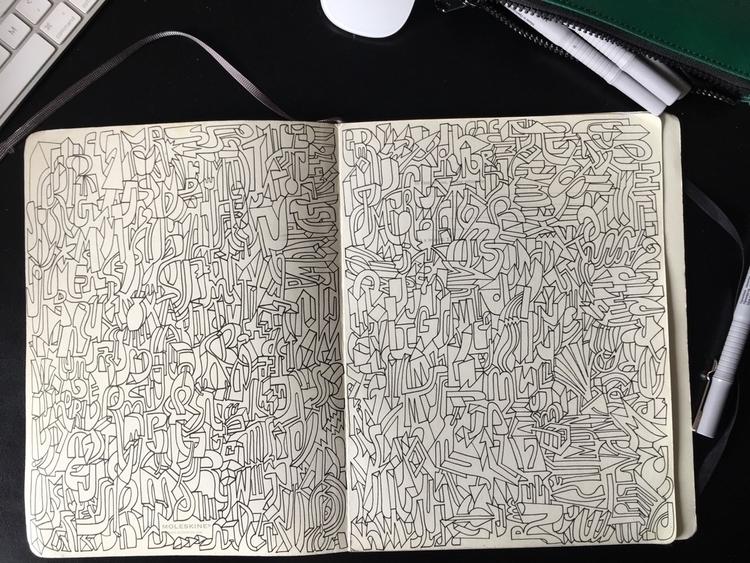 doodles - elmarnoteboom | ello