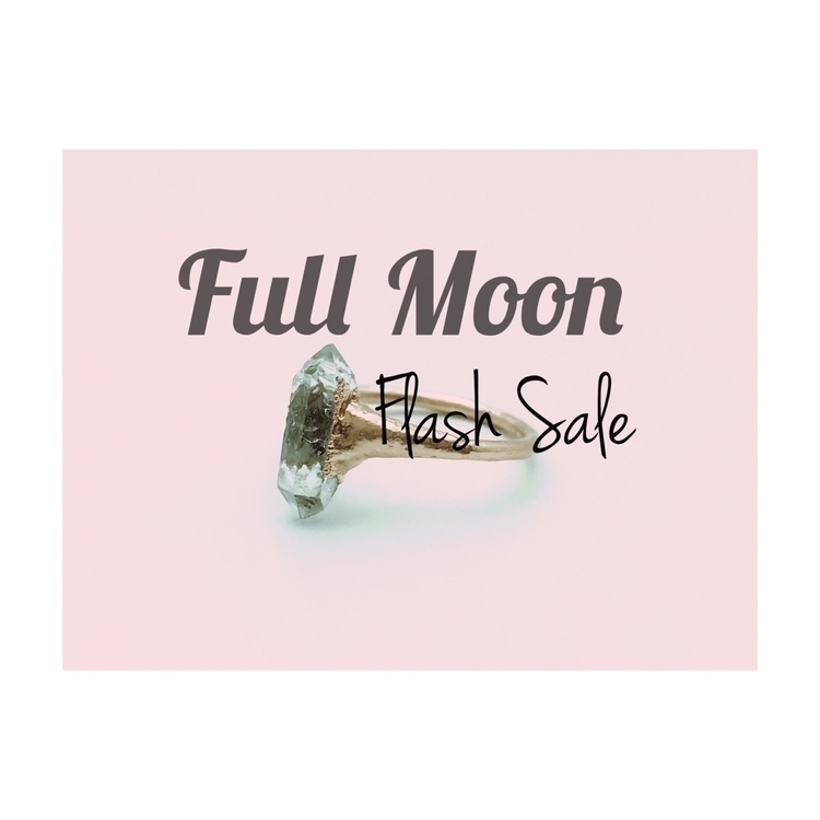 Full Moon Flash Sale! celebrate - phasecollection | ello