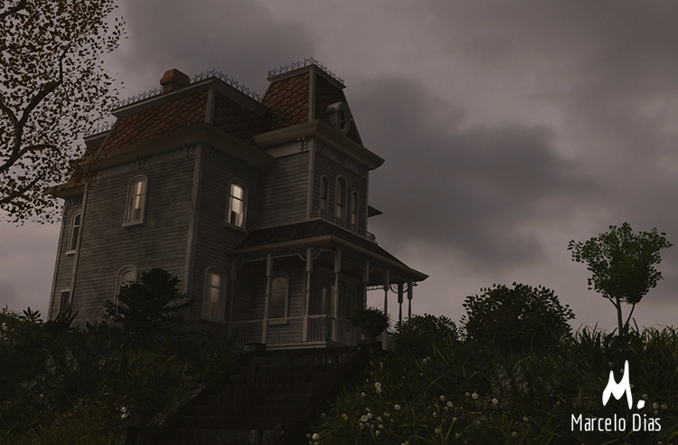 Bates Manor - Final Render Blen - marcelo_d | ello