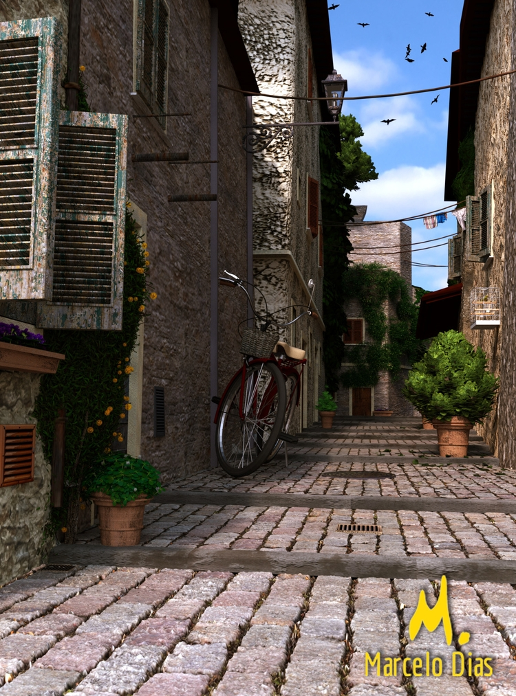 BECO Alley) - Final Render Blen - marcelo_d | ello