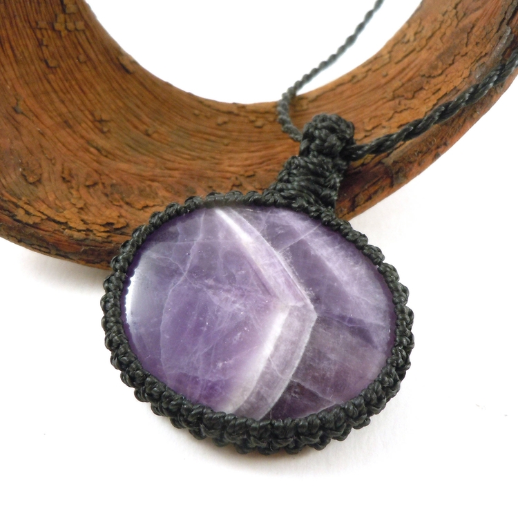 amethyst, purple, gemstones, meditation - wrapmeacrystal | ello