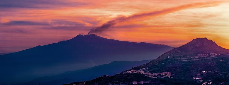 Etna sunset - bradverts   ello