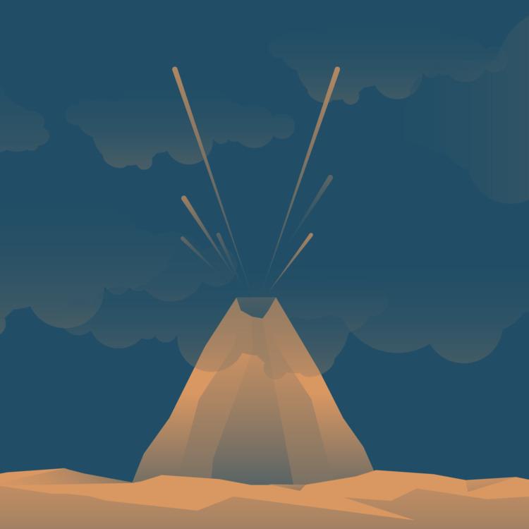 Typehue week 22: Volcano Color - jennyilee | ello