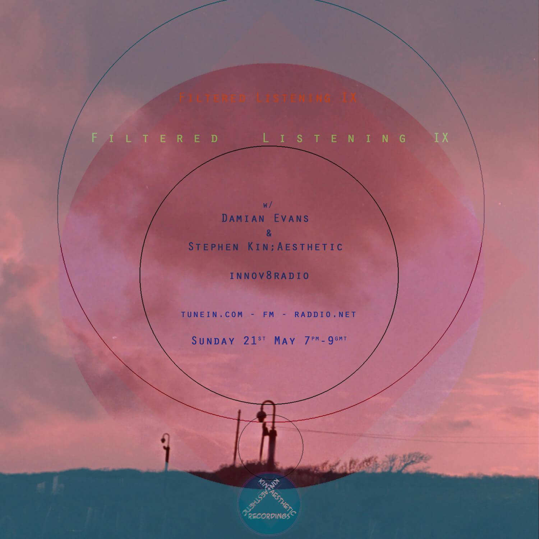 Filtered Listening 9: Damian Ev - kin-aesthetic-recordings   ello