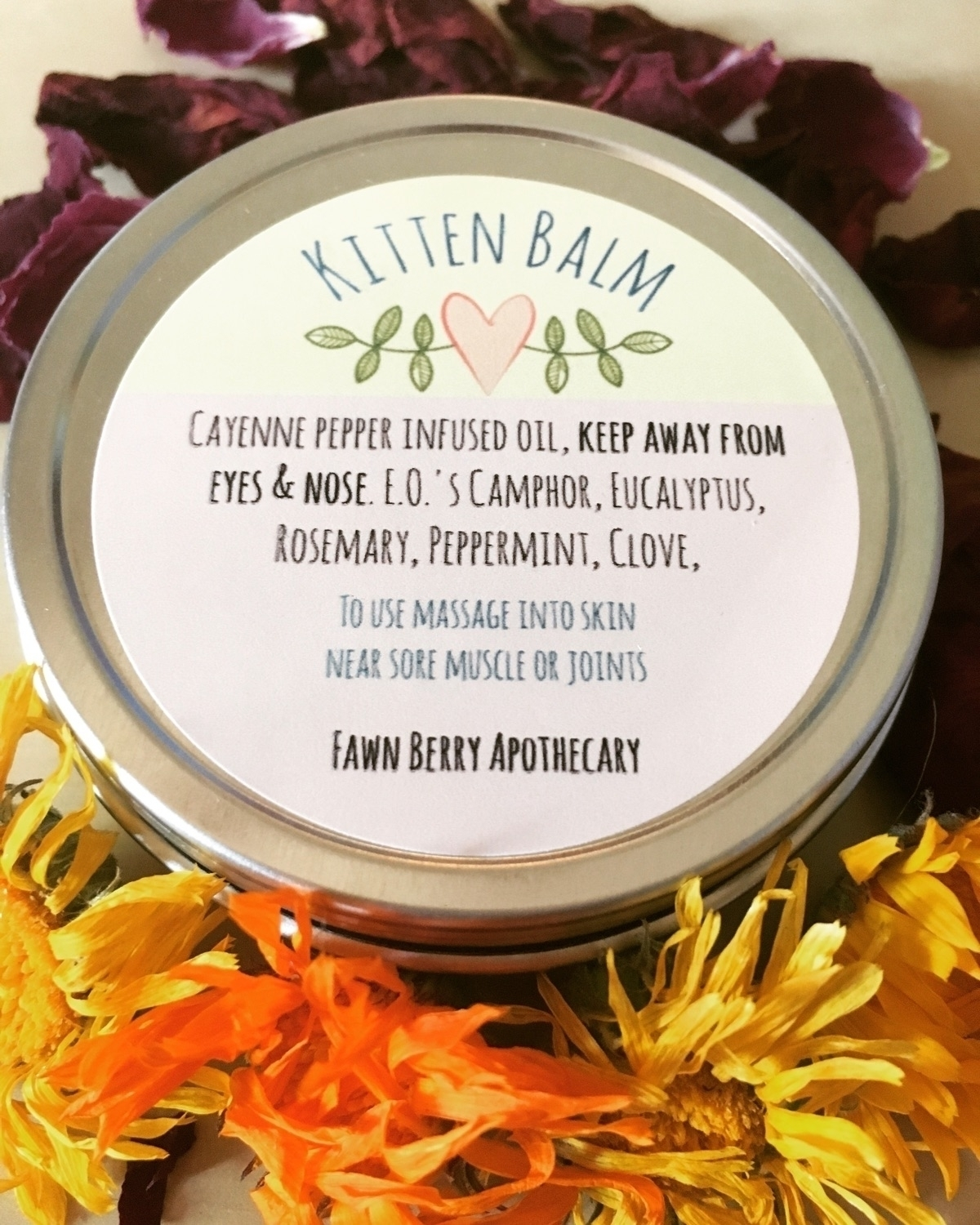 super excited kitten salves lef - fawnberryapothecary | ello