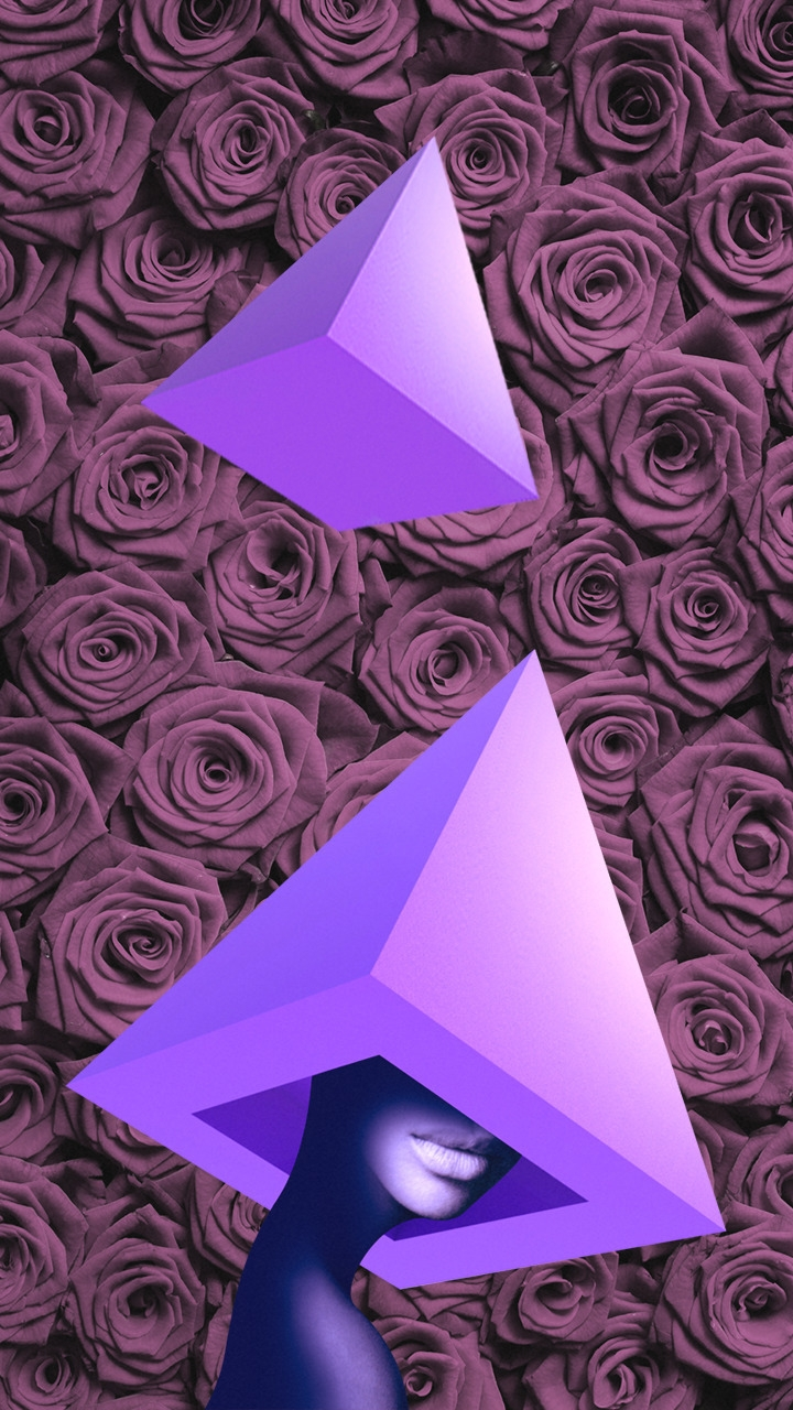 Pyramid Woman II - design, geometric - valenvq | ello