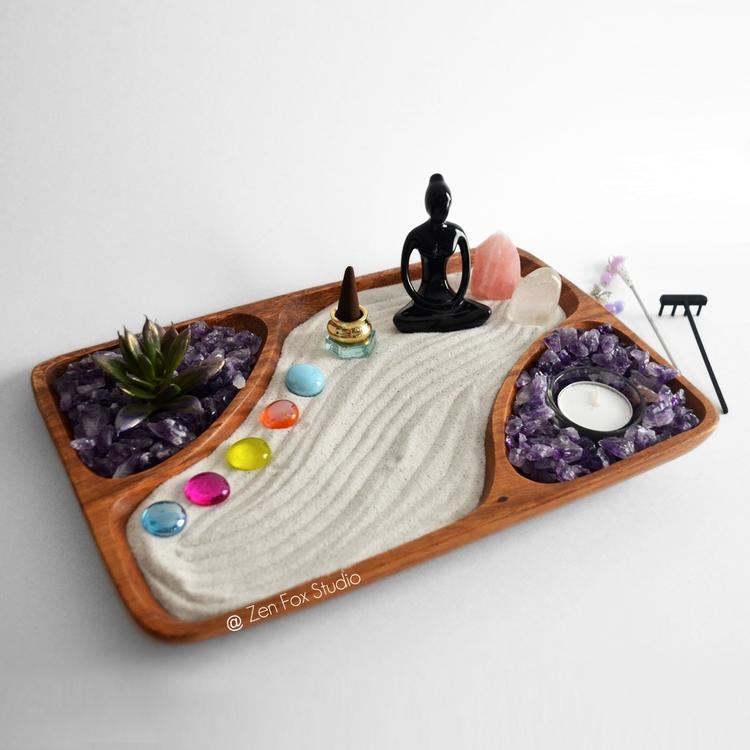 Zen Garden Meditating Yoga Godd - zenfoxstudio | ello