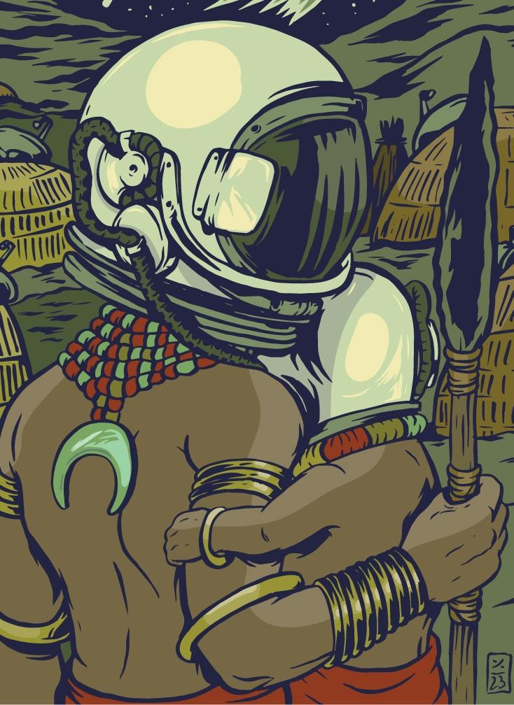 Galactic Tribe - illustration - thomcat23 | ello