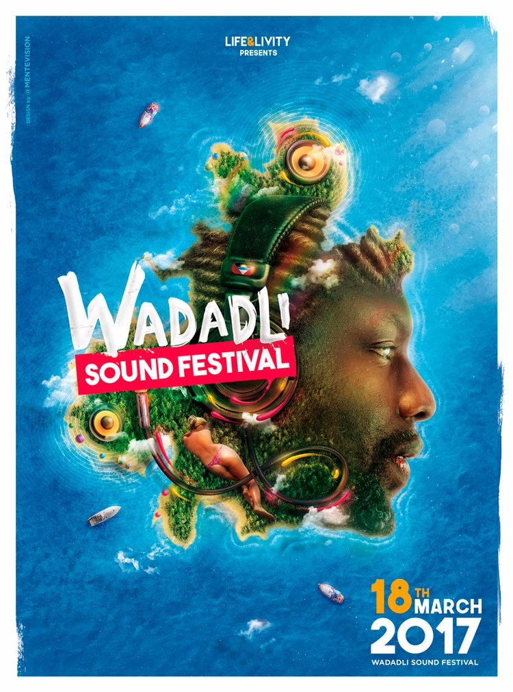 Official poster Wadadli Sound F - mentevision | ello